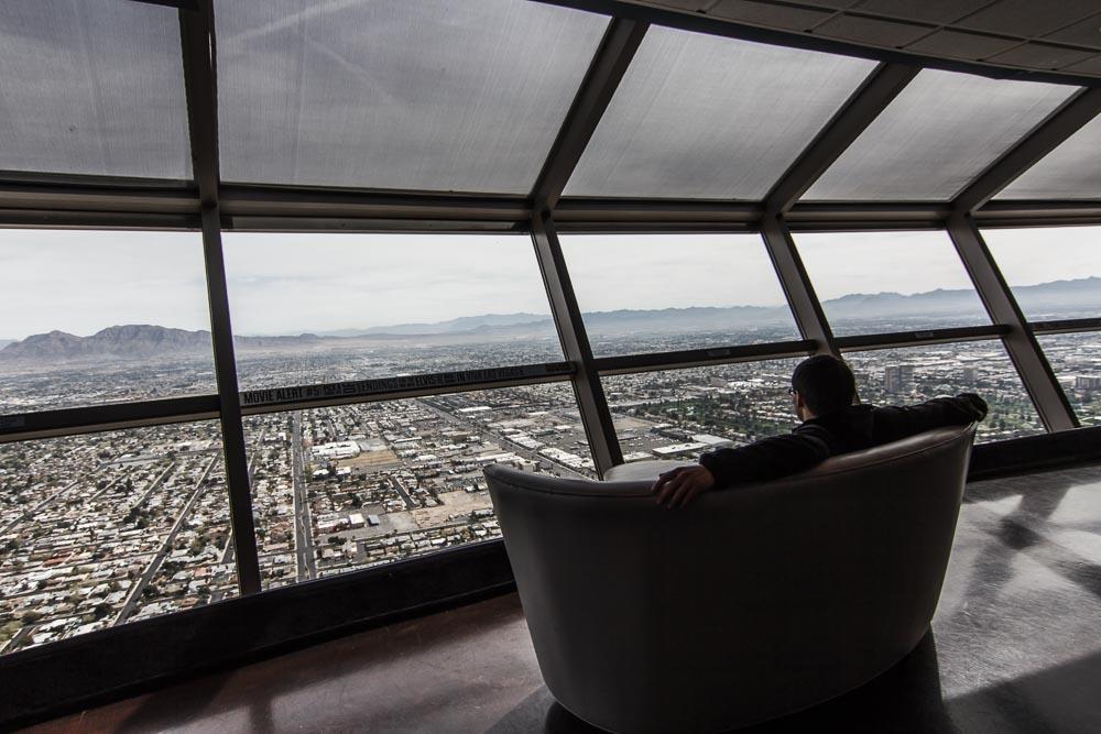 Panoramasofa im Stratosphere Tower