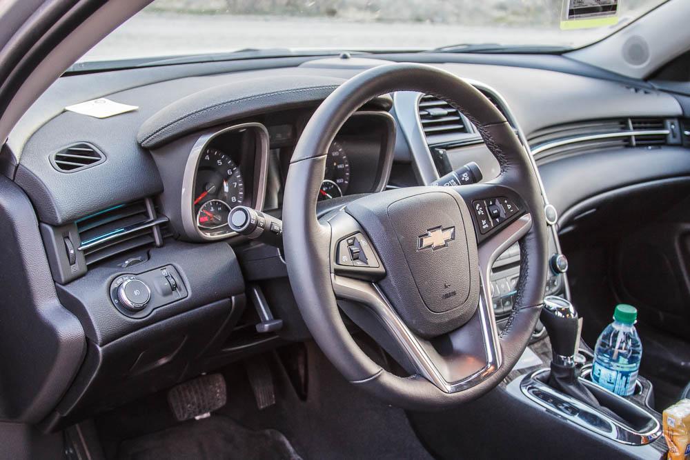 Interieur des Chevrolet Malibus