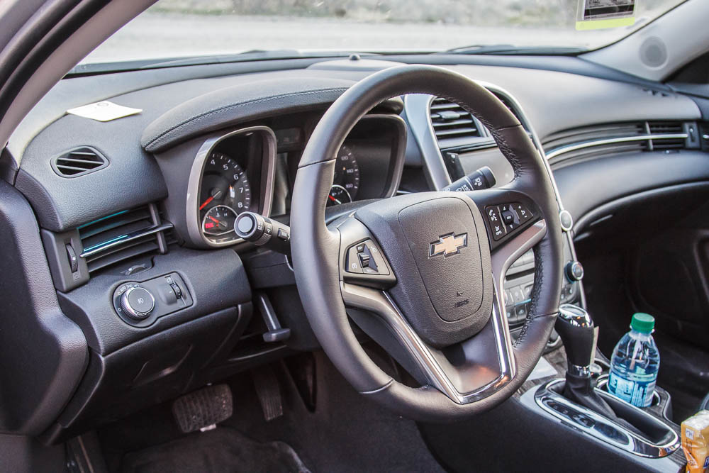 Interieur im 2016 Chevrolet Malibu LTZ