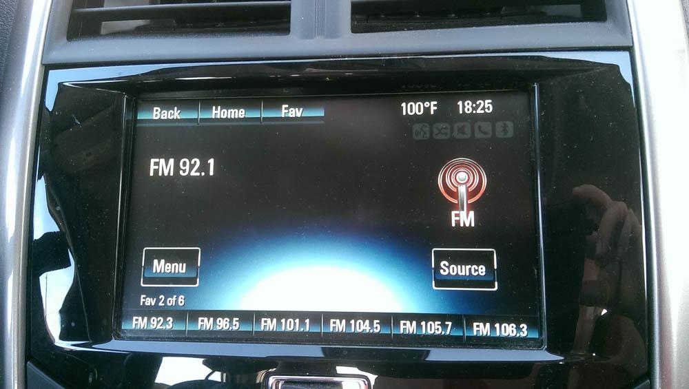 Multimediasystem im 2016 Chevrolet Malibu LTZ