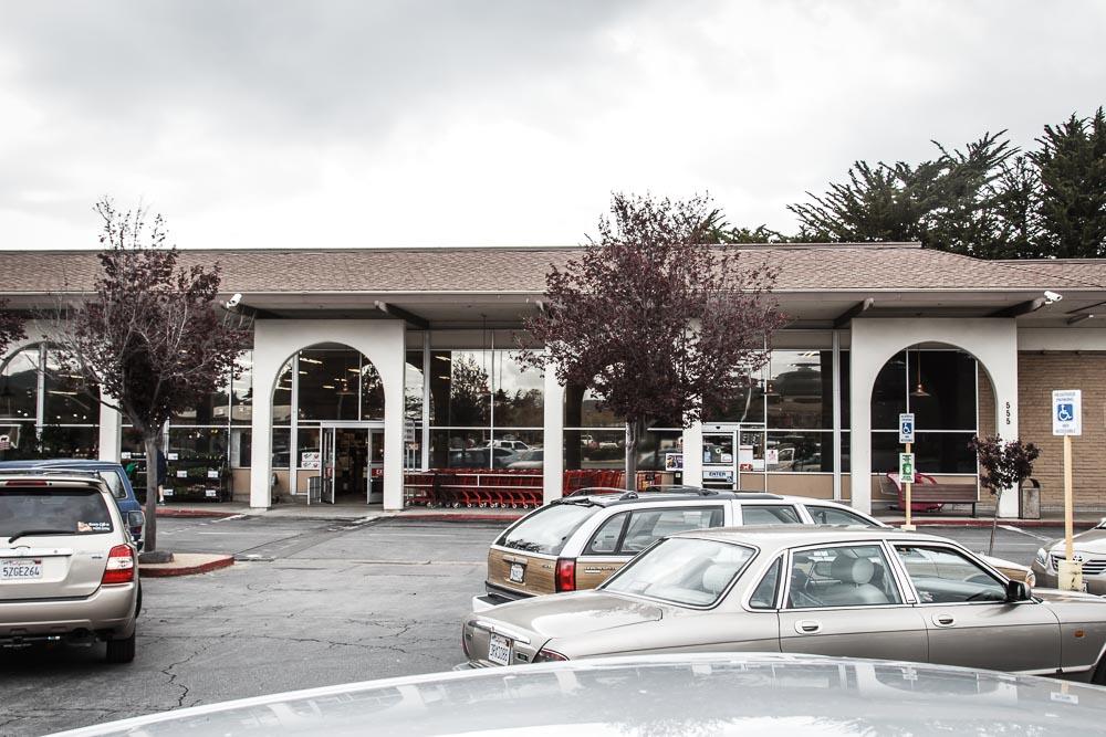 Supermarkt der Kette Lucky in der Nähe von Carmel