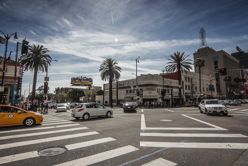 Straßenszene am Hollywood Boulevard