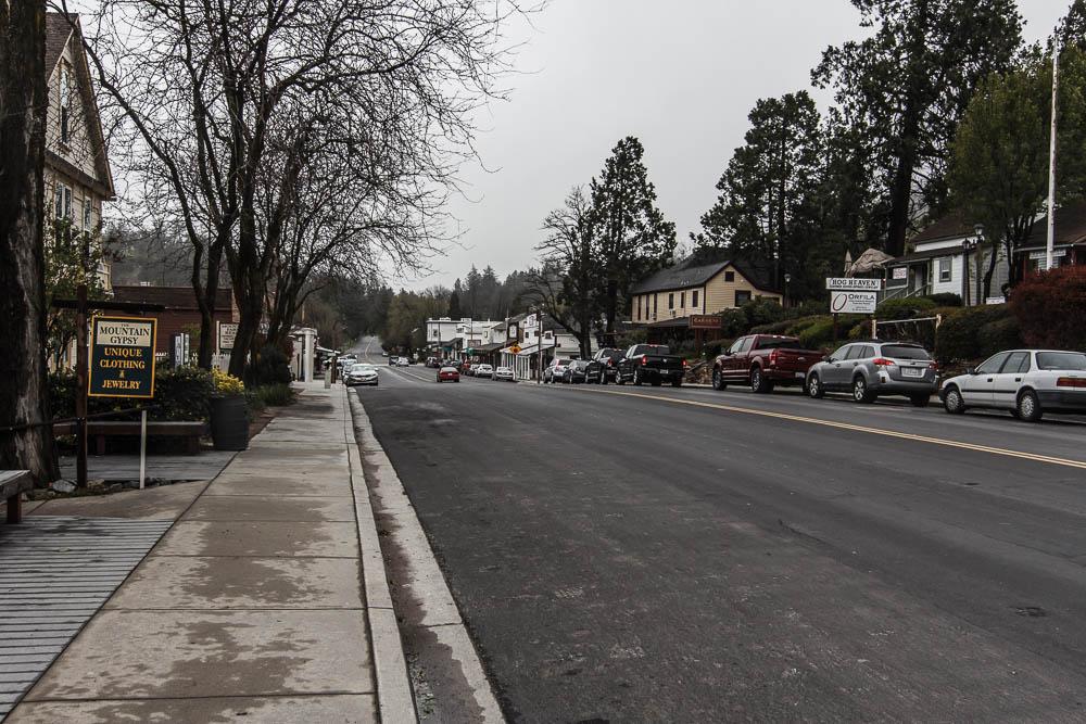 Straßenszenerie in Julian, Kalifornien