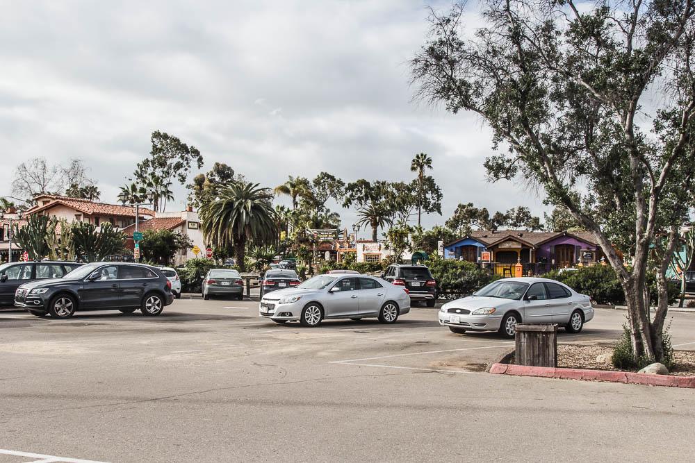 Parkplatz in der Oldtown San Diego