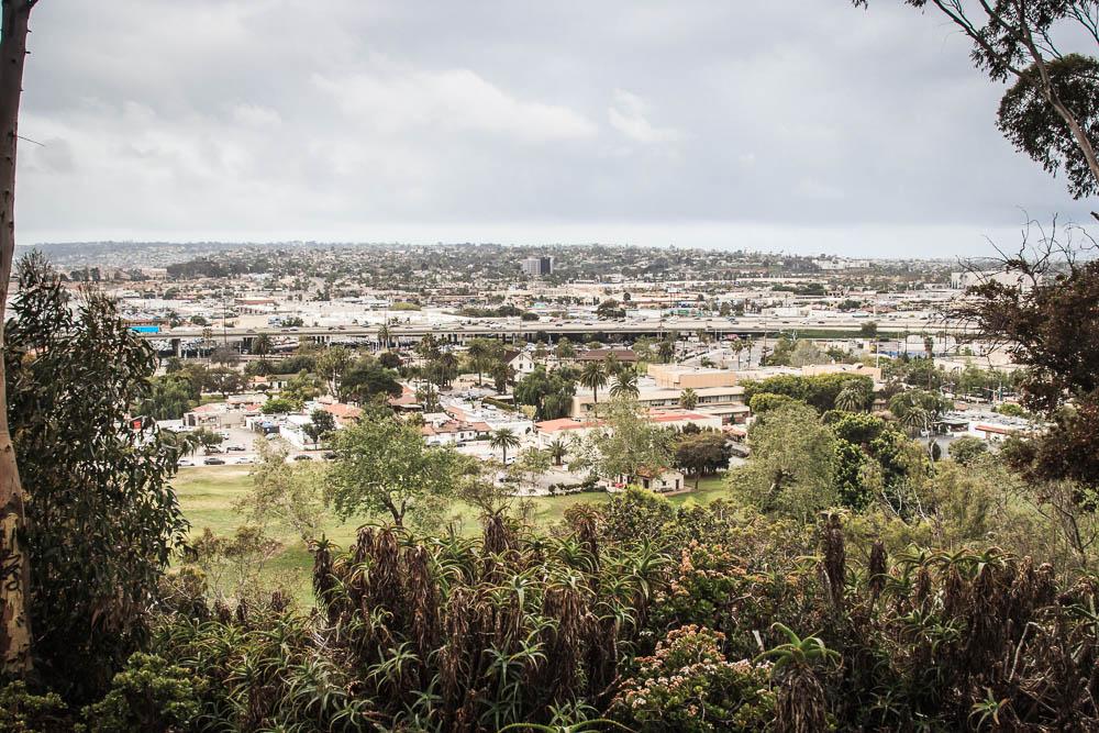 Ausblick vom Presidio Park auf San Diego
