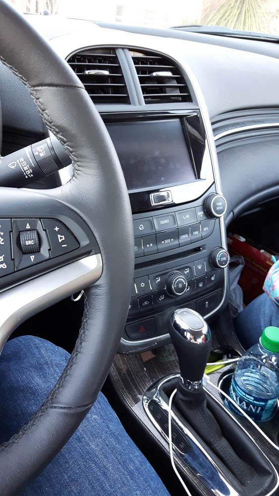 Interieur im Chevrolet Malibu