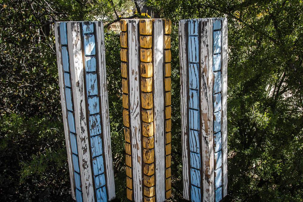 Bunte Bienenstöcke im Arizona Desert Museum