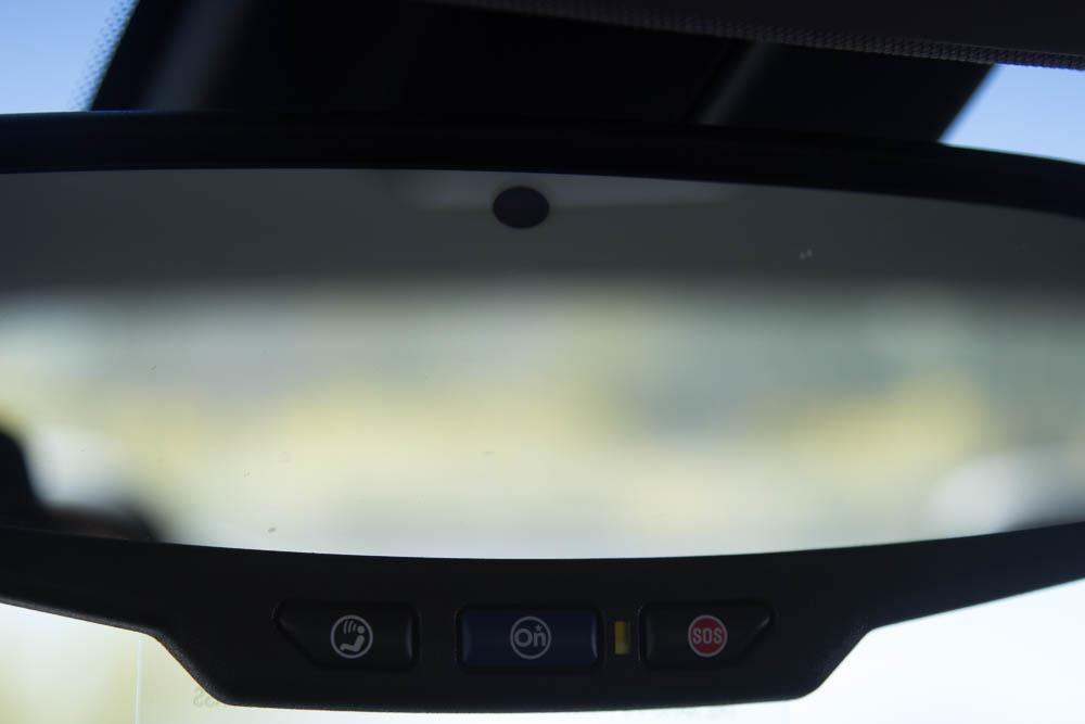 Rückspiegel im Chevrolet Malibu