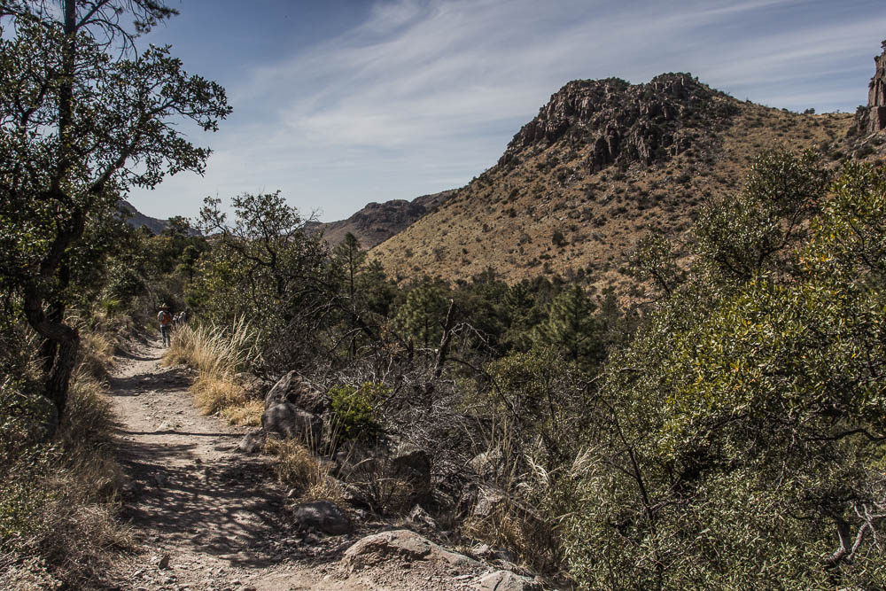 Wir wandern im Chiricahua National Monument