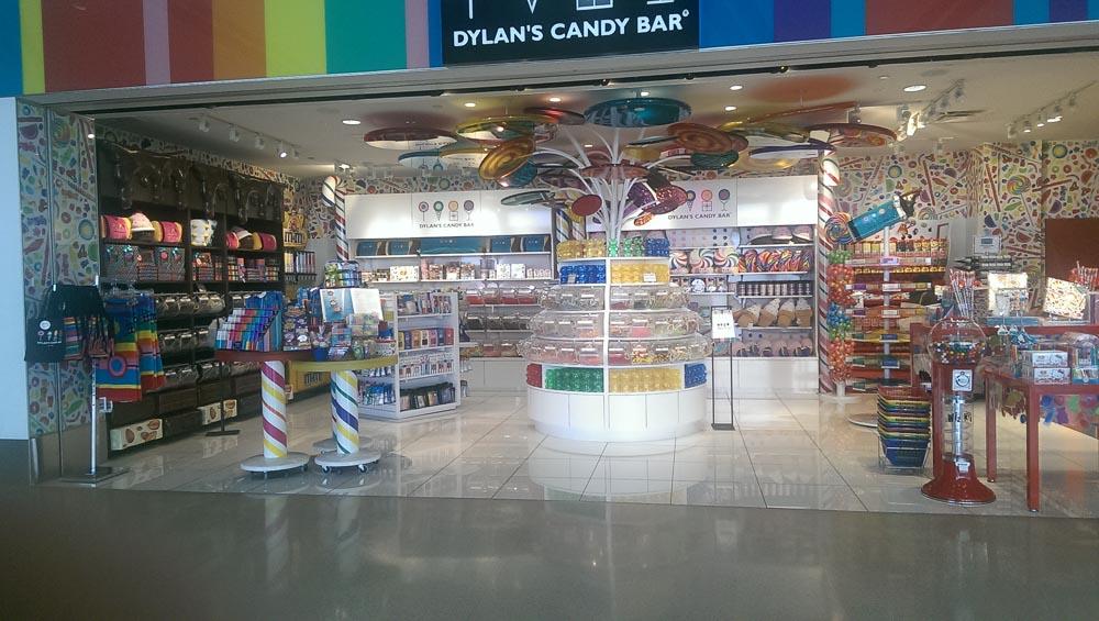 Candy Bar am Flughafen Detroit