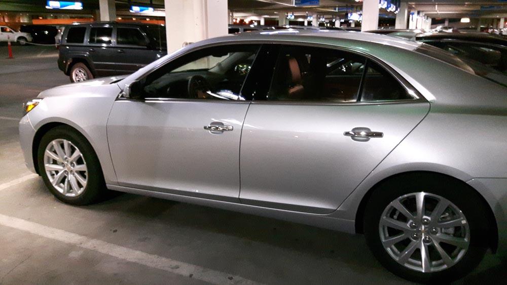 Chevrolet Malibu in der Choiceline von Alamo in Las Vegas