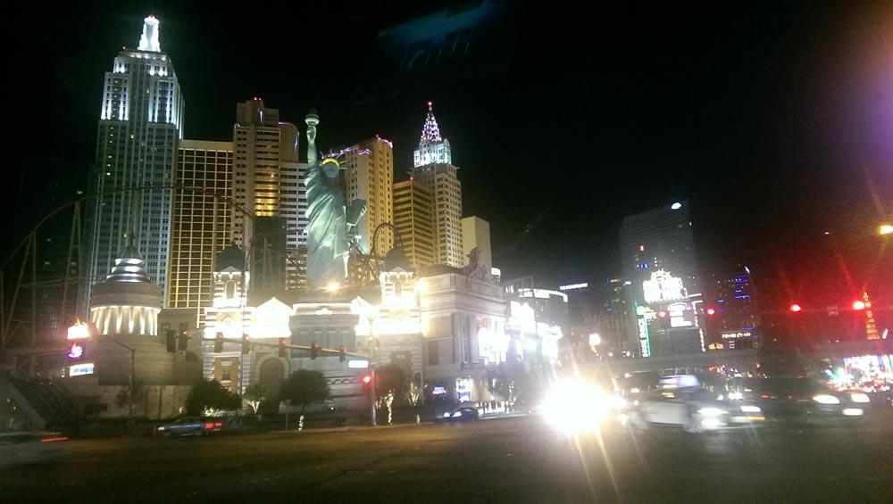 Las Vegas Strip in der Nacht