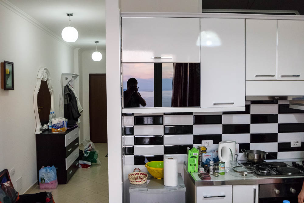Jimis Panorama Apartment über der Stadt Vlora