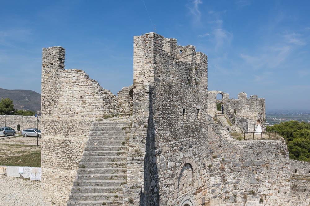 Ruine der Burg Berat