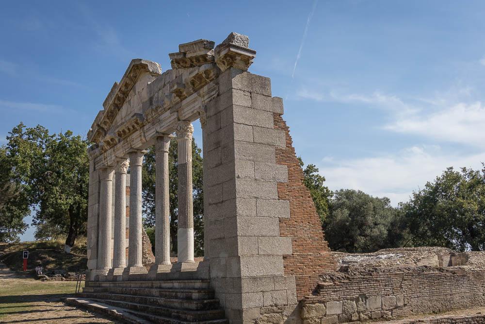 Ausgrabungsstätte Apollonia in Albanien