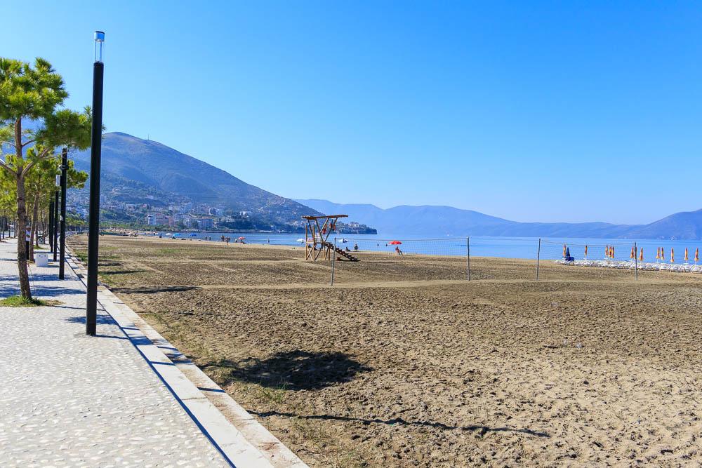 Am Strand von Vlora