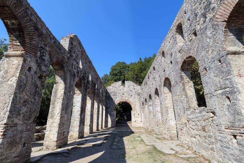 Ruinen bei Butrint