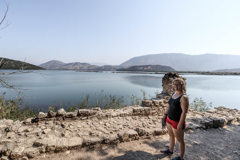 Pauline direkt am Wasser in Butrint
