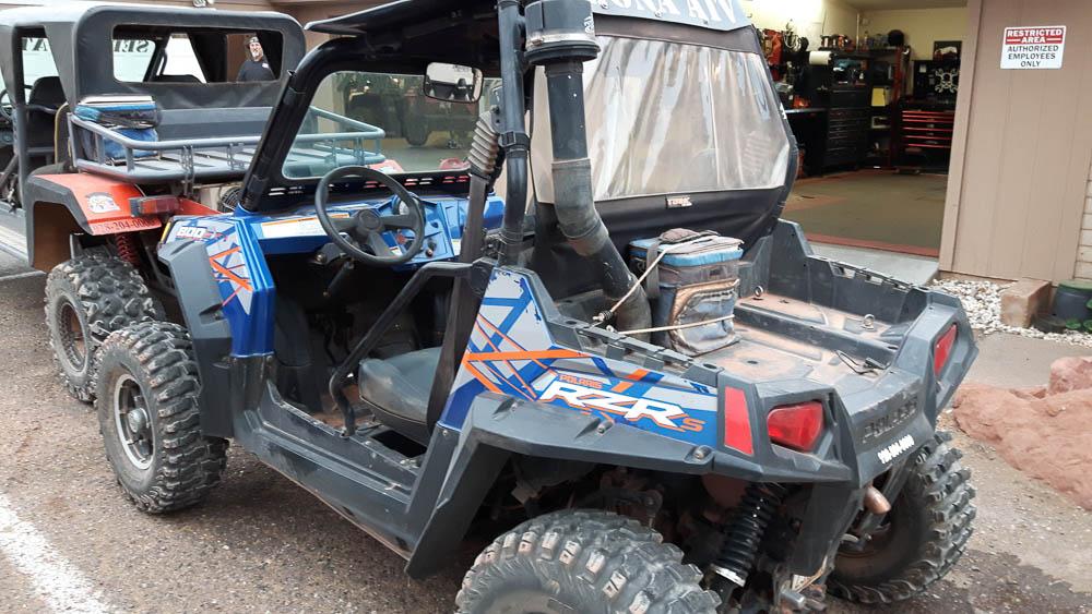 Unser Miet-ATV mit welchem wir rund um Sedona unterwegs waren