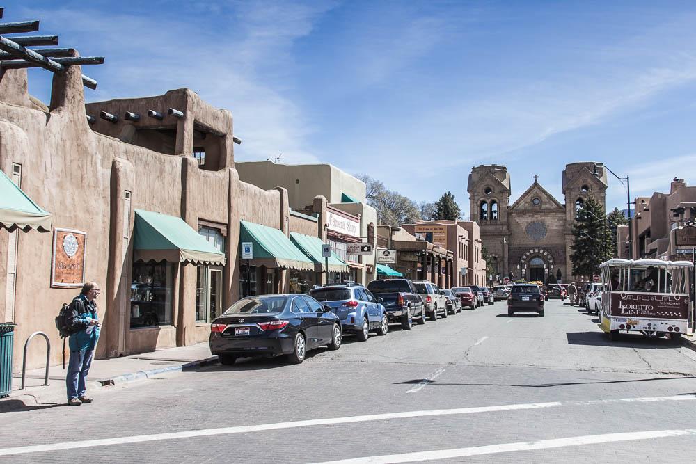 Straßenzeile in Santa Fe