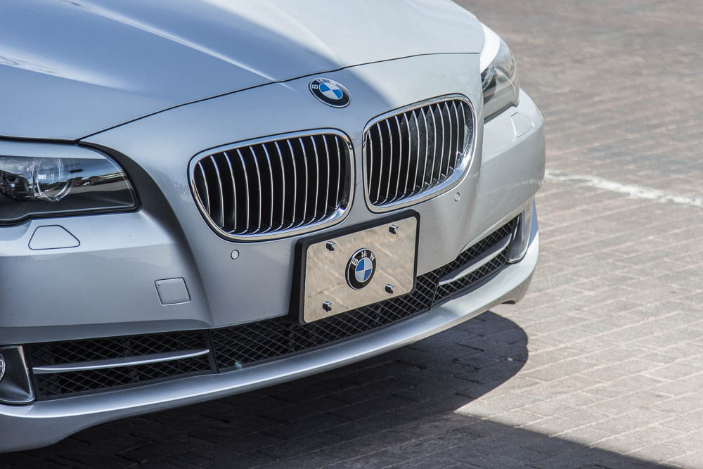 BMW Logo auf Aluminium