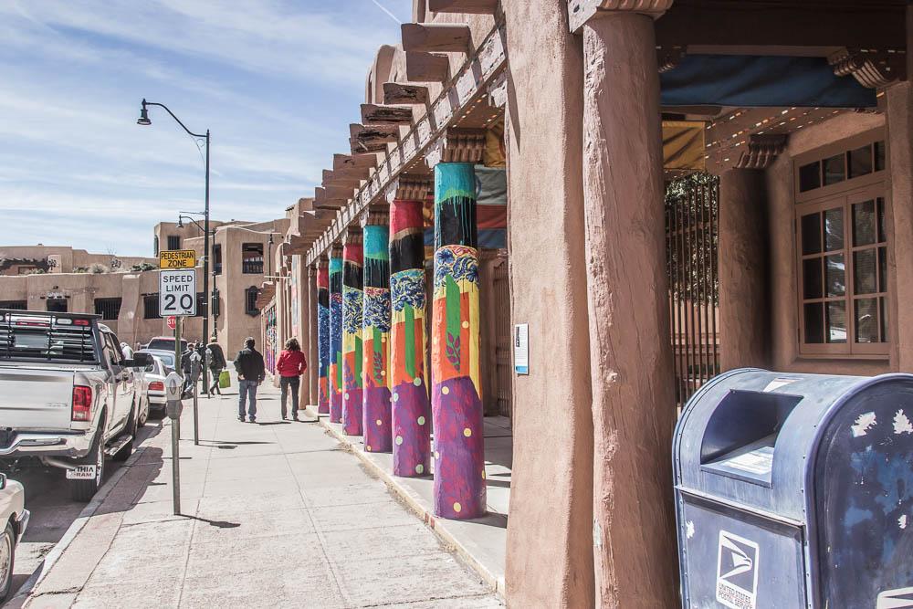 Straßenszene in Santa Fe