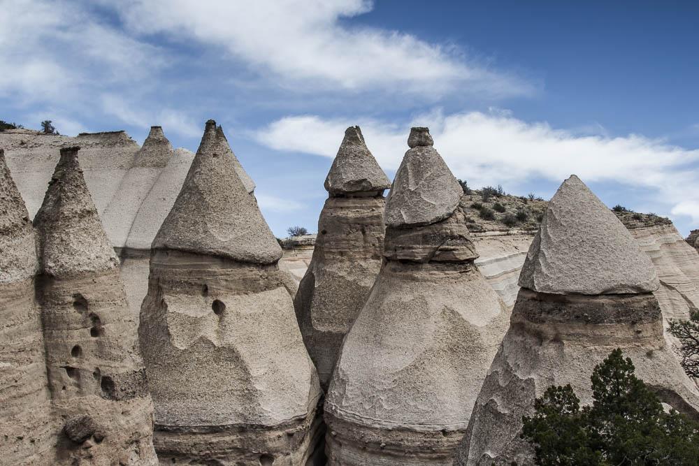 Roadtrip USA – Tag 27: Wanderung zu den Kasha Katuwe Tent Rocks