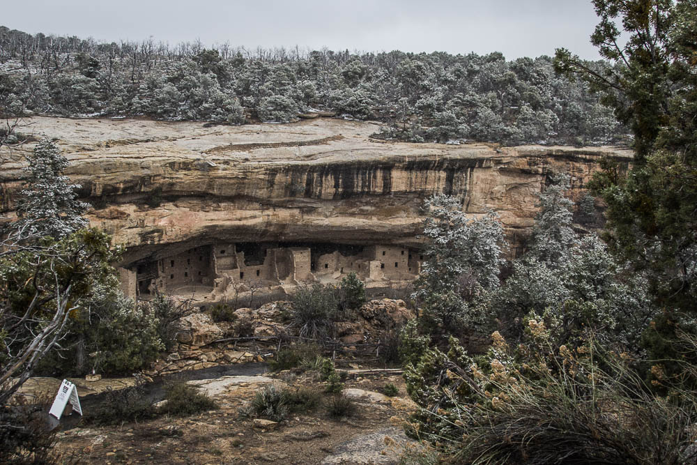 die alten Städte im Mesa Verde National Park