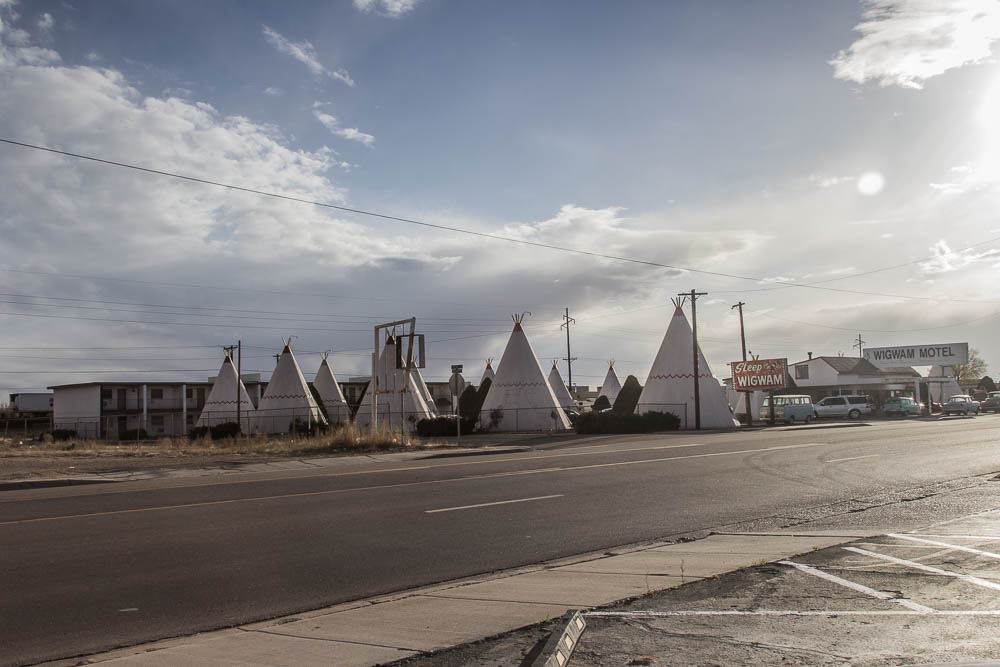 Wigwam Motel in Holbrook