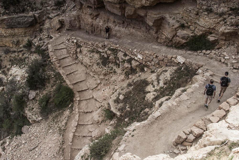 Wandern im Grand Canyon auf dem South Kaibab Trail