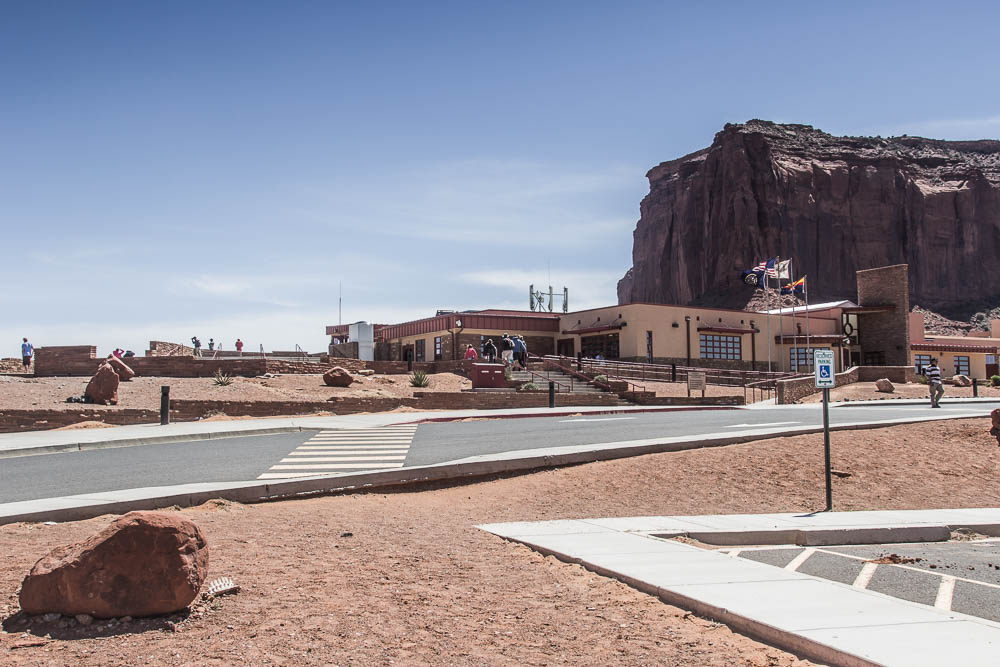 Visitor Center des Monument Valley