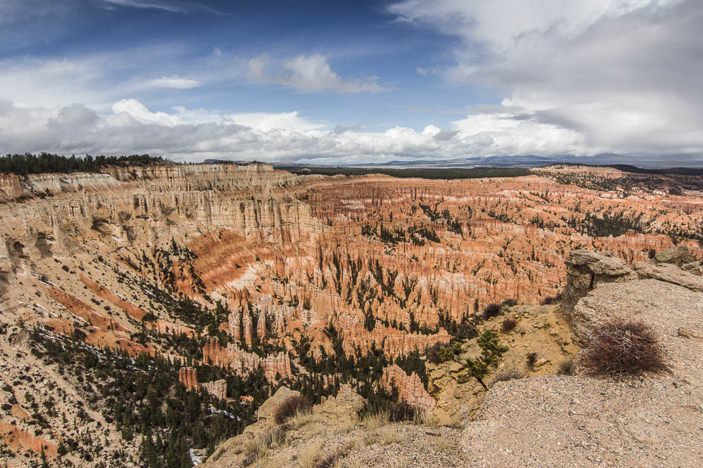 Das Amphitheater im Bryce Canyon National Park