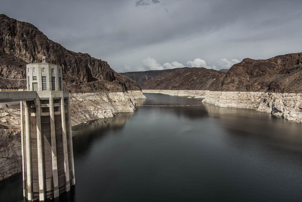 Stausee am Hoover Dam