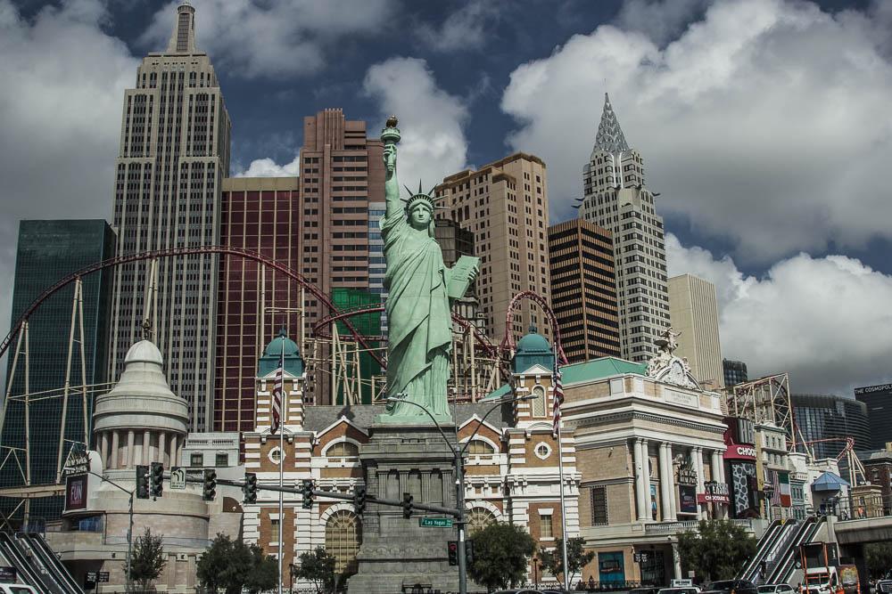New York New York am Las Vegas Strip