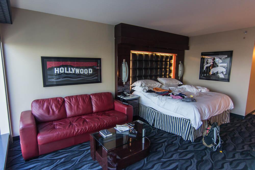 Unser Zimmer im Hilton Elara