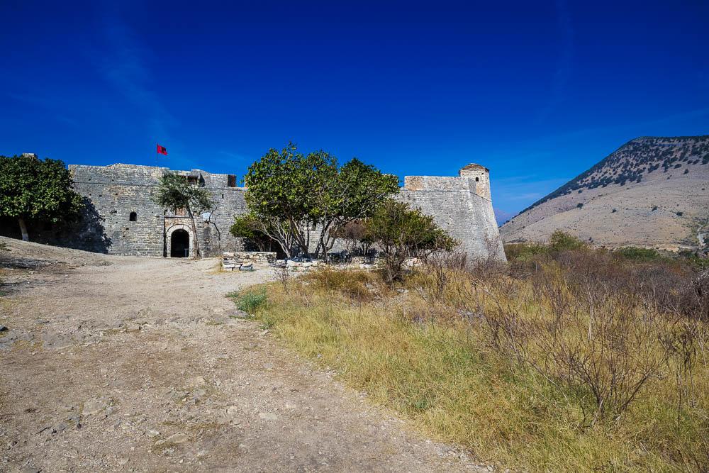 Die Festung von Porto Palermo