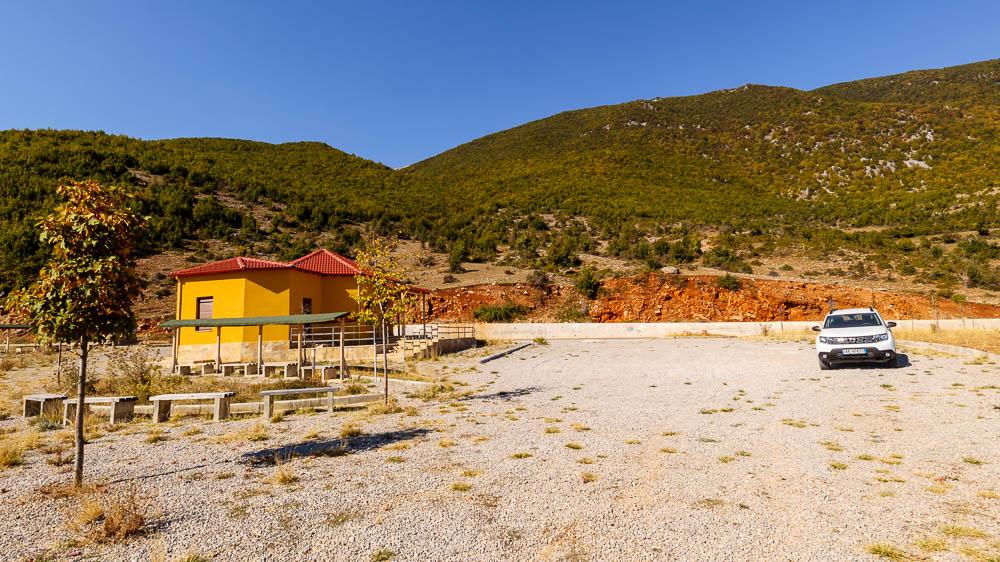 Infopoint im Prespa National Park