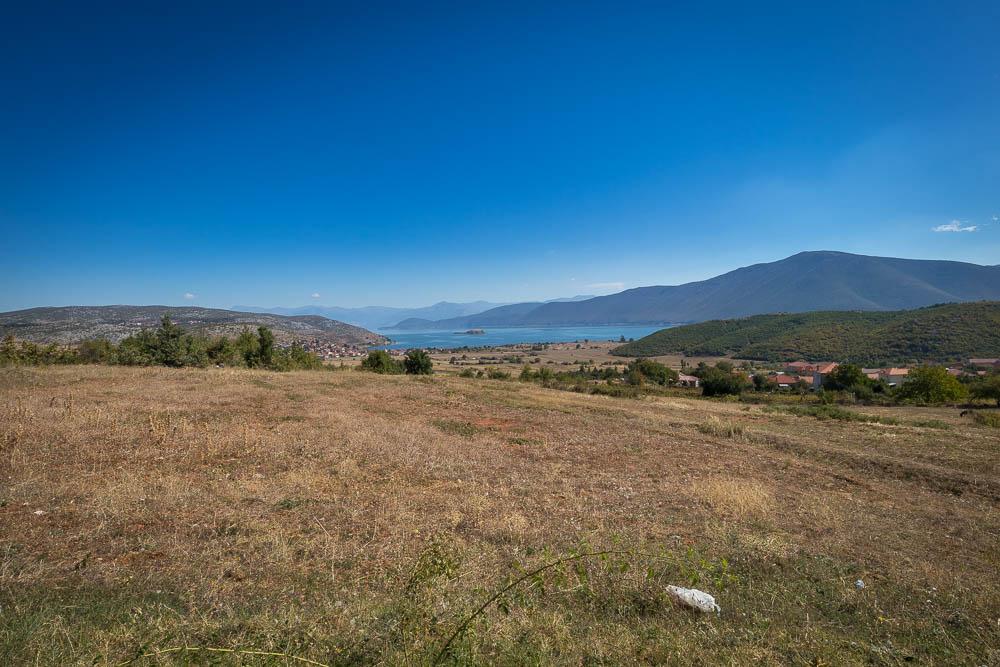 Blick auf den Prespa See im gleichnamigen albanischen National Park.