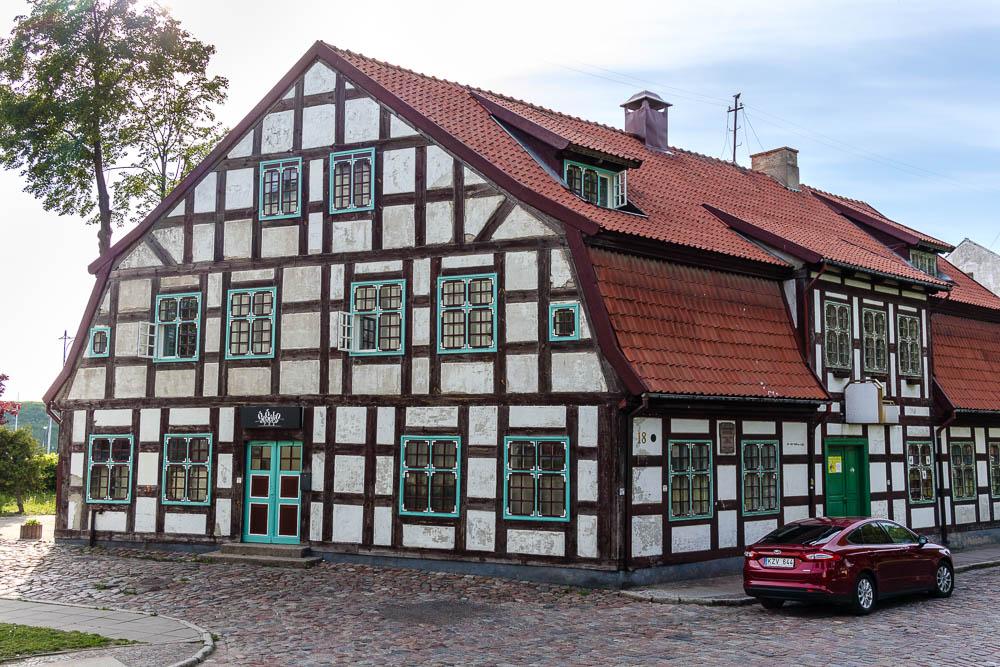 Fachwerkhaus in Klaipeda