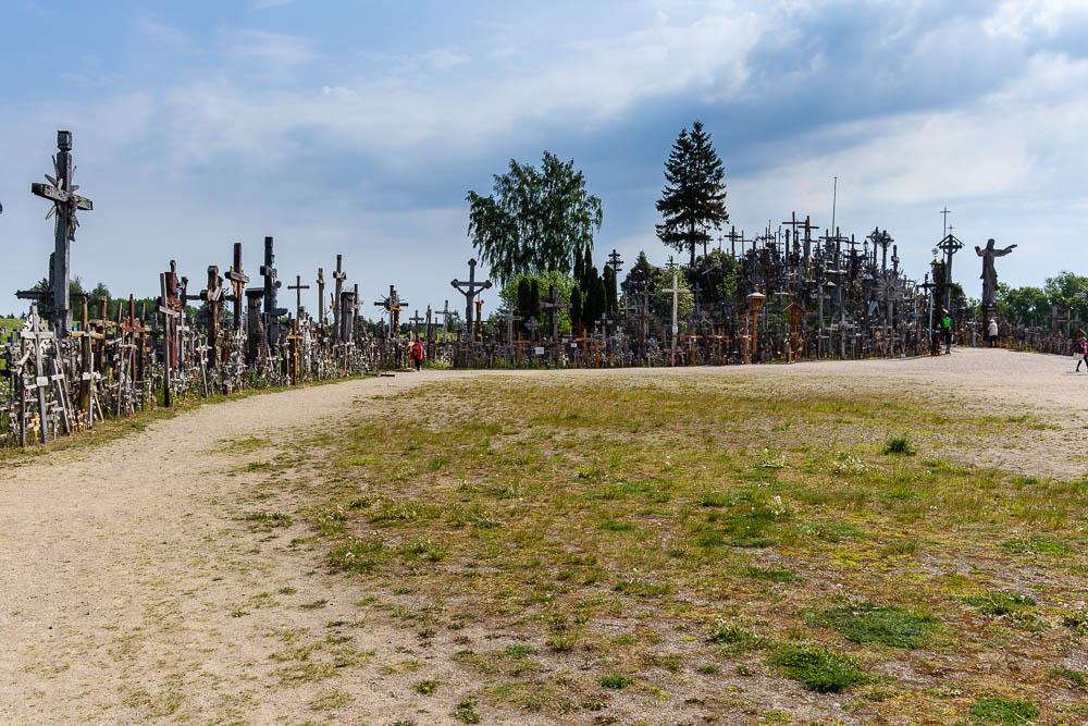 Kreuze am Berg der Kreuze in Litauen