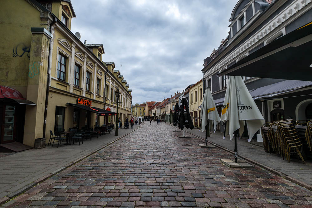 Gassen in der Altstadt von Kaunas