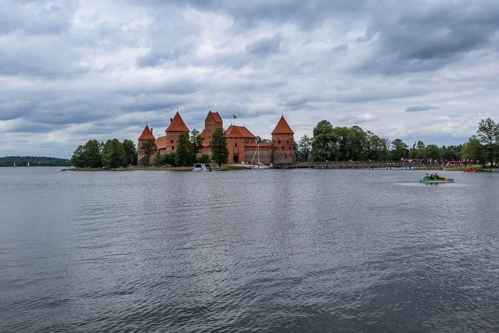 Die Wasserburg bei Trakai
