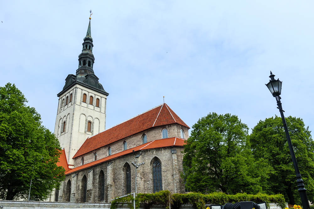 Kirche in der Altstadt von Tallinn