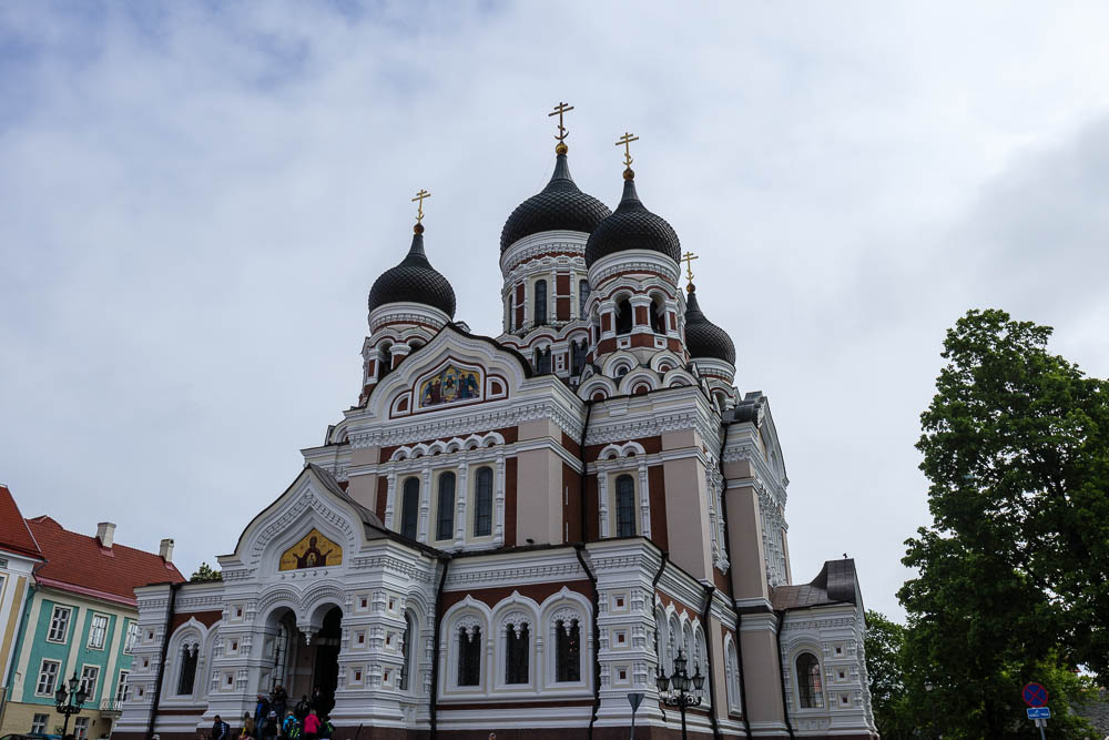 Orthodoxe Kirche auf dem Domberg in Tallinn