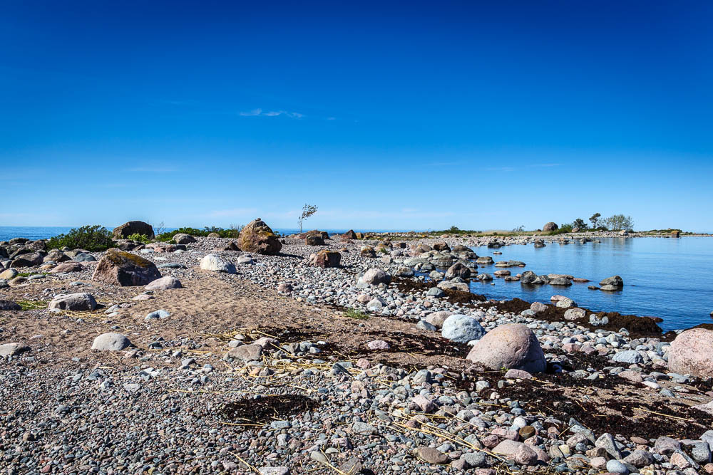 Steinige Halbinsel im Lahemaa Nationalpark