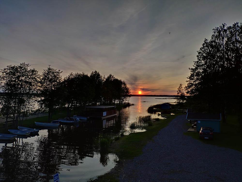 Sonnenuntergang Camping Ermistu Puhkekühla