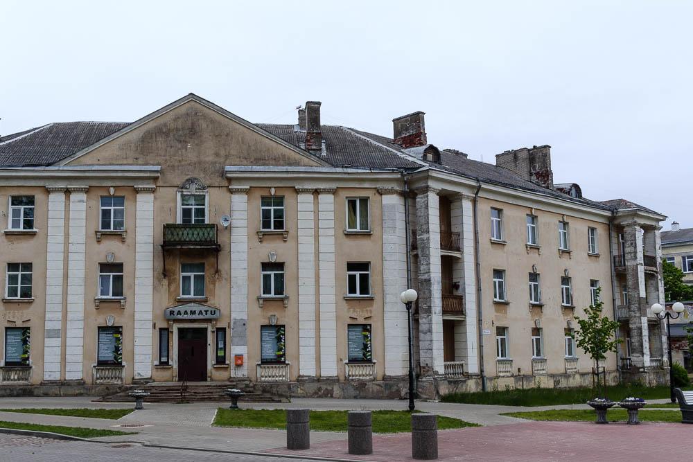 Wohnhäuser in Sillamäe