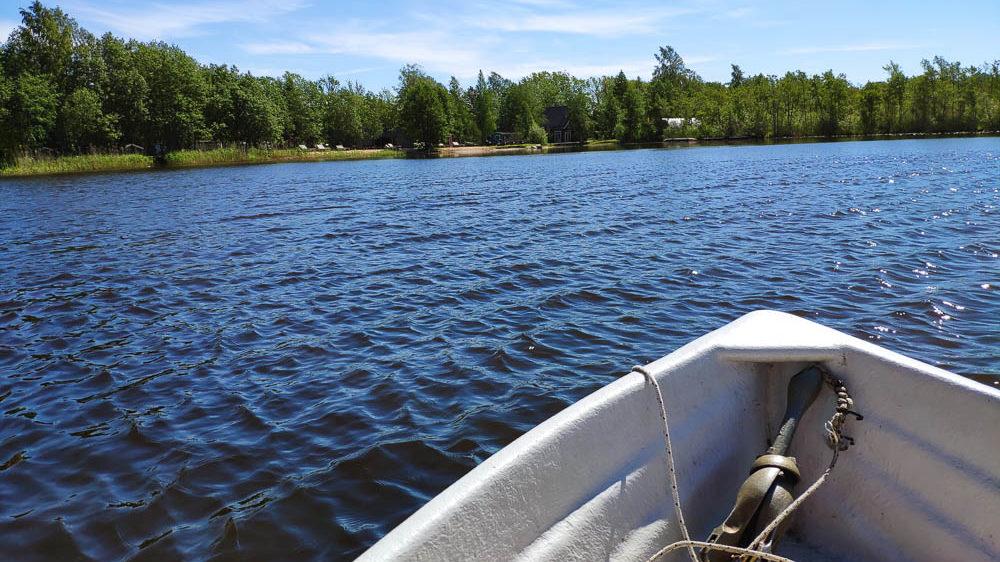 Roadtrip Baltikum Tag 13: Bootfahren auf dem Ermistu Järv