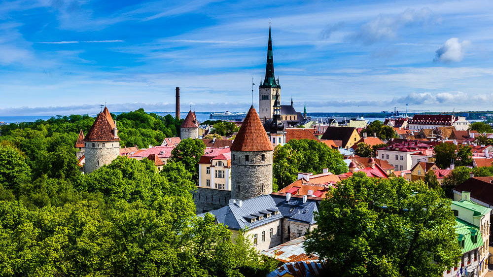 Roadtrip Baltikum Tag 8: Free Walking Tour Tallinn