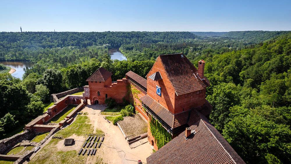 Roadtrip Baltikum Tag 15: Wanderung zur Burg Turaida